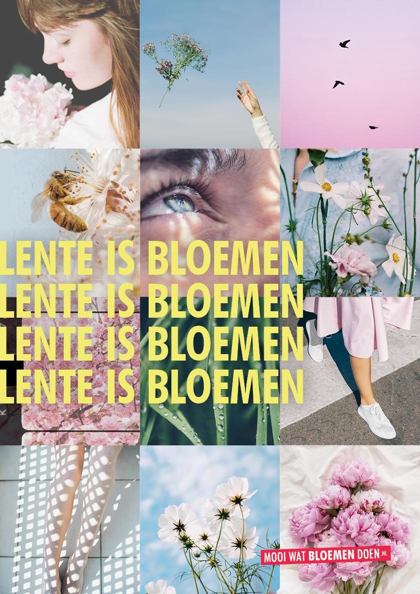 Lente is Bloemen