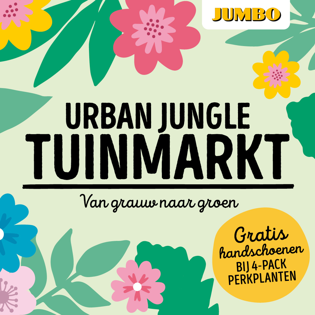 Shopper activatie Van Grauw naar Groen met Jumbo