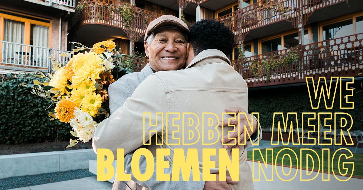 We Hebben Meer Bloemen Nodig campagne 2021 van start
