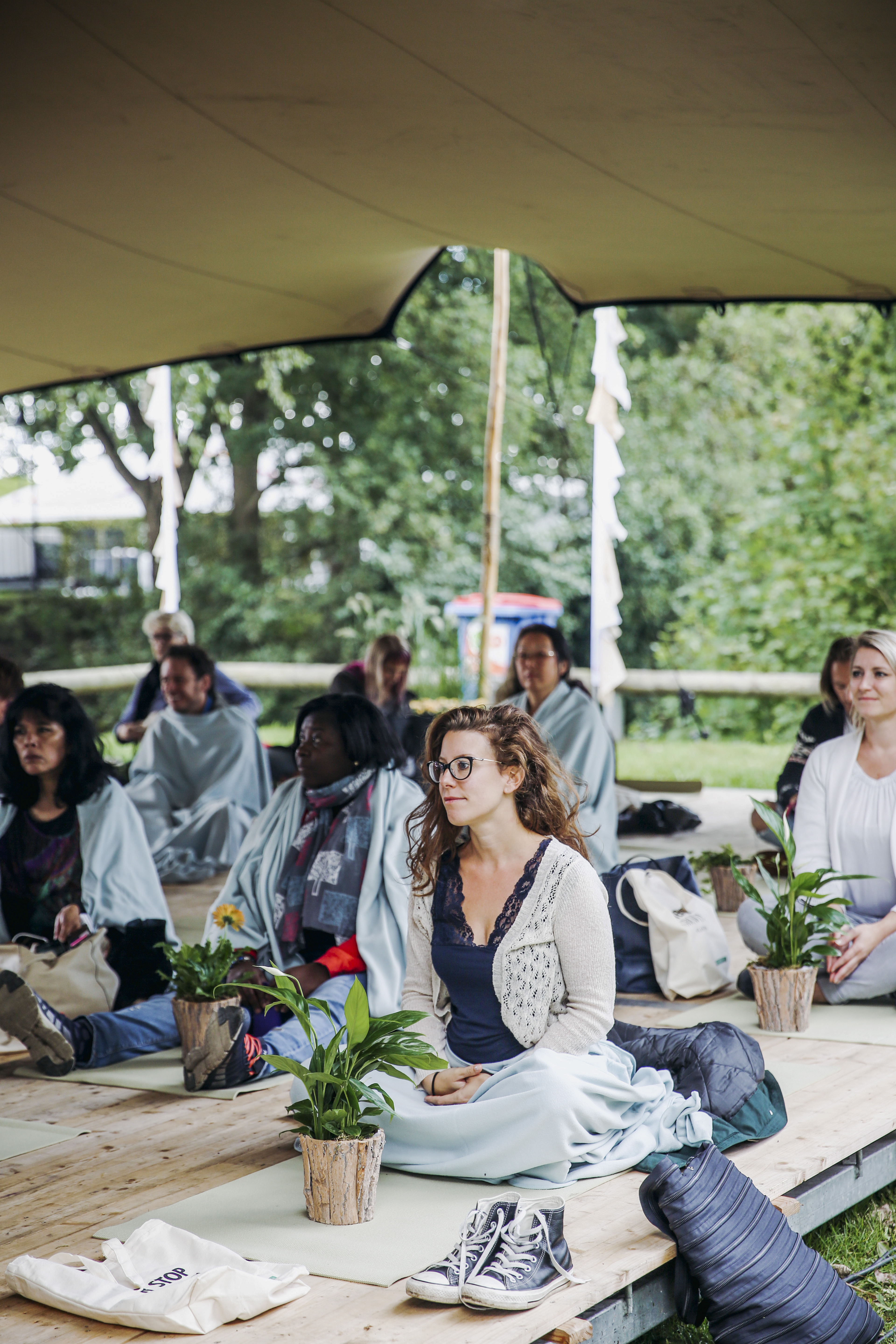 Happinez Festival Plantfullness sessie