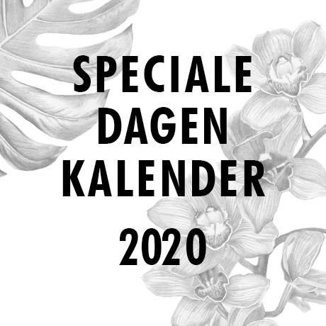Speciale dagen kalender 2019