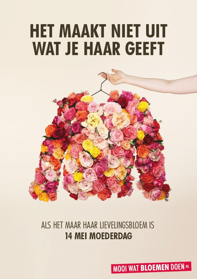 Moederdag Campagne 2017 - Poster met fohn