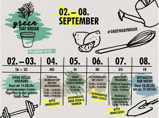 Programma Green Day Break