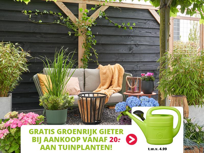 Shopper activatie GroenRijk 2021