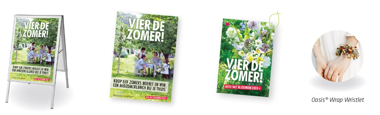Activatiecampagne: Vier de zomer!